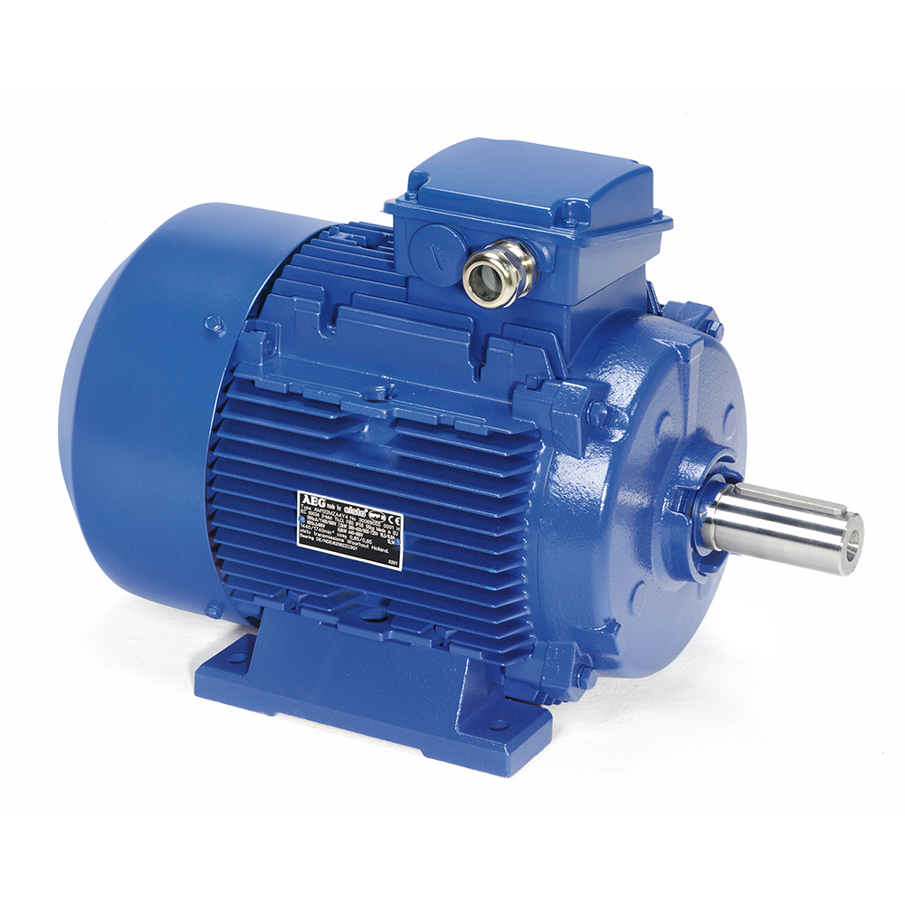AEG Lafert three-phase motor with standard housing