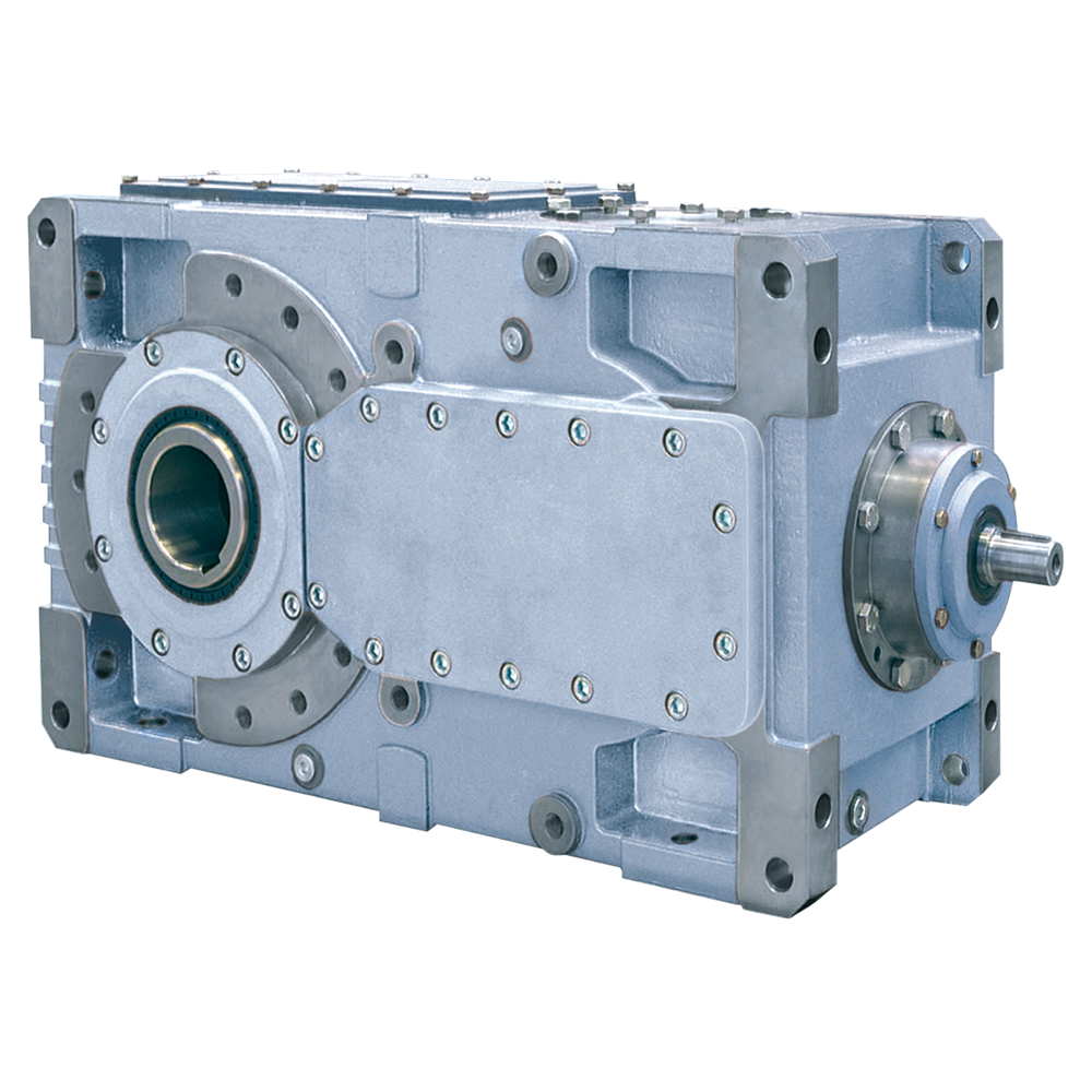 Bonfiglioli Riduttori Heavy Duty gearbox HDO-series version HS with solid input shaft color grey
